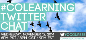 Unit 5 - Twitter Chat #colearning
