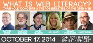 Unit 3 - What is Web Literacy? Threshold Concepts and the Possibilities of the Open Web