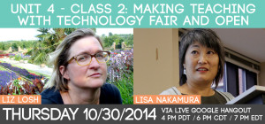 Unit 4 - Class 2: Making Teaching with Technology Fair and Open