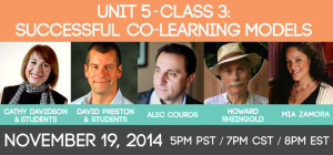 Unit 5 - Class #3: Successful Co-learning Models